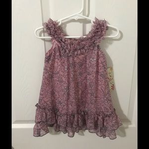 Dress, baby girl; NEW w/tag